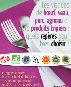 Qualité & origine des viandes : les signes officiels à repérer