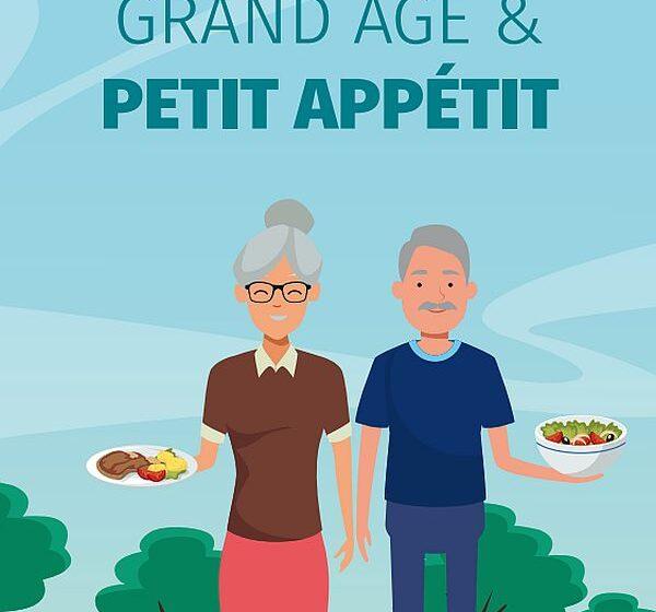 Dénutrition : un guide pratique «Grand âge & petit appétit» (Inrae)