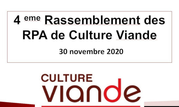 4ème rassemblement des RPA de Culture Viande