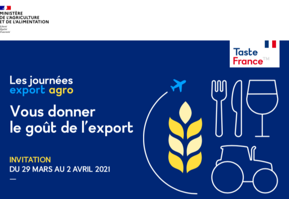 (Replay) Journées Export Agro 2021 (29 mars au 2 avril)