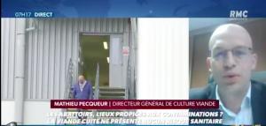 Covid : à l'abattoir, les mesures de protection des salariés sont en place.