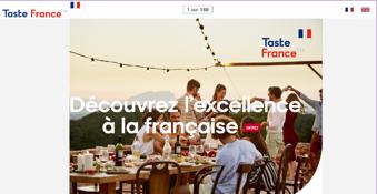 L'excellence à la française en quelques slides («Taste France»)